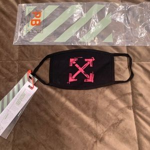 """Off White mask """"Arrows"""""""